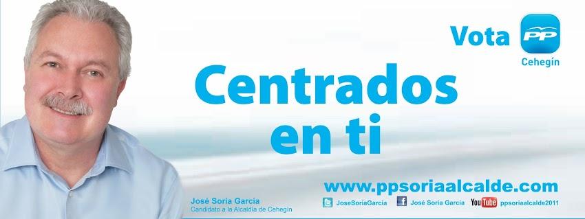 José Soria García - Partido Popular Cehegín
