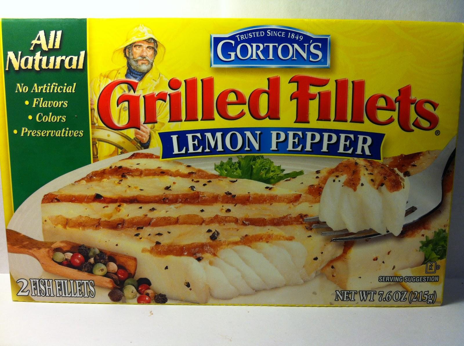 Crazy food dude review gorton 39 s grilled fillets lemon for Gordon fish sticks