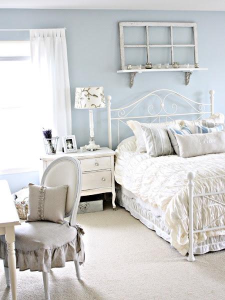 Dormitorios shabby chic bedrooms shabby chic decorar tu - Dormitorio shabby chic ...