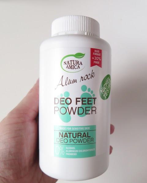 Natura Amica – Alum Rock Deo feet Powder pudra pėdoms