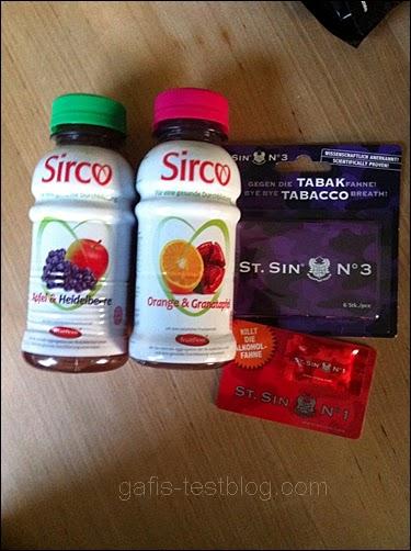 Sirco Bio Fruchtsaft, St.Sin No3 und St.Sin No.1