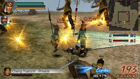 dynasty warriors vol 2 psp iso