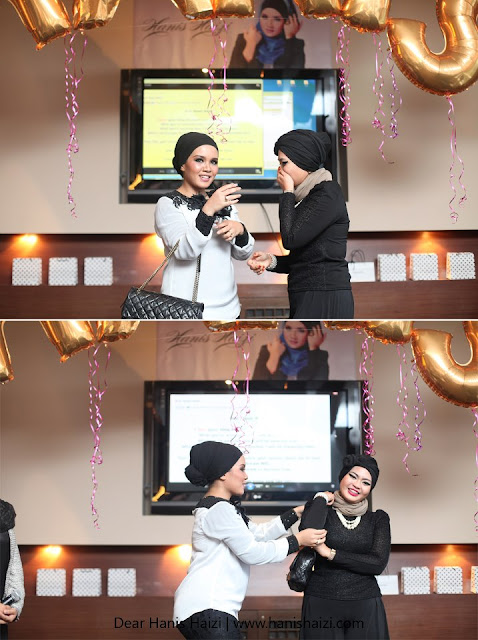Coco Chanel private party hanis haizi with cdm adibah karimah and syera begam