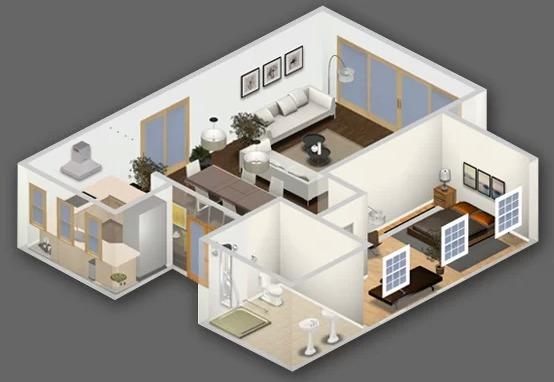 La nube autodesk homestyler for Disenar casa online con autodesk homestyler