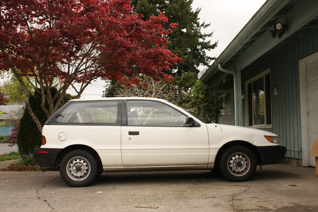 1992 Plymouth Colt Hatchback.