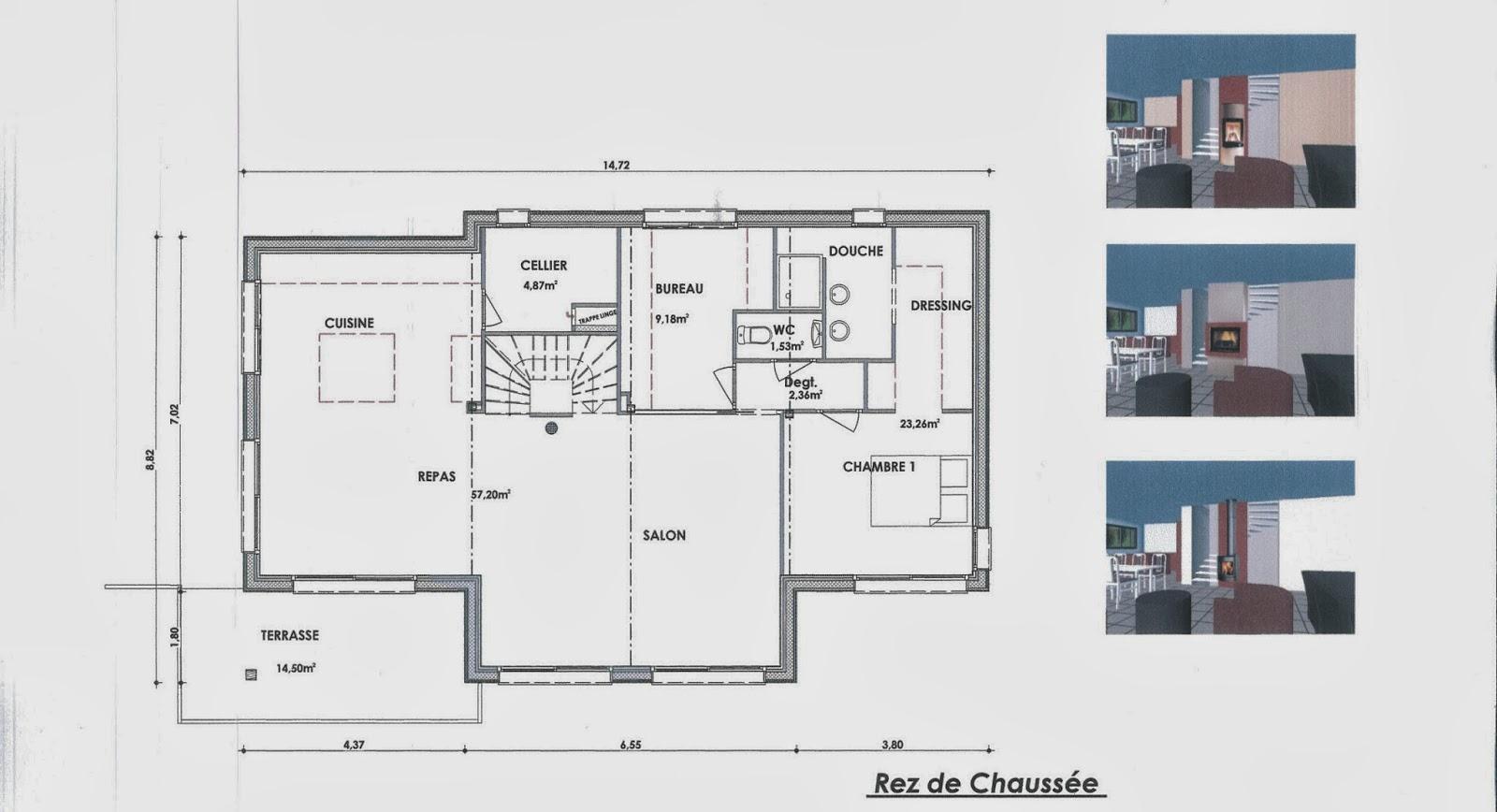 notre maison en bois les plans. Black Bedroom Furniture Sets. Home Design Ideas