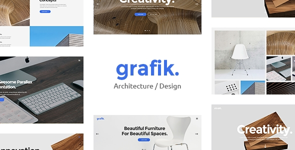 buy Grafik - Portfolio, Design & Architecture Theme