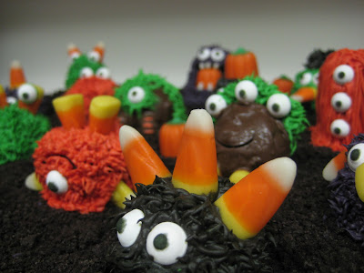 Halloween Little Monster Cake Balls - Close-Up View 3