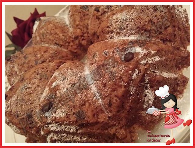 *Bizcocho de cacao en microondas (thermomix y microondas)
