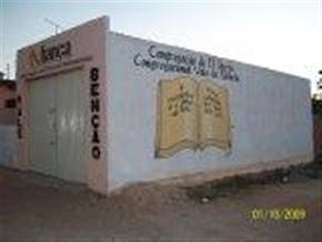 Assim surgiu a igreja, após meses de estudos bíblicos, ajudamos erguer  esse espaço.