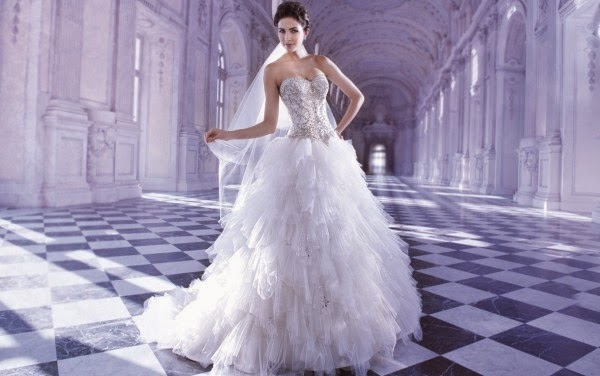 Romantic Wedding Dresses by Demetrios Couture 11