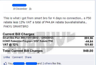 Smart Bro Bill Rebate