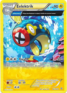 Eelektrik Primal Clash Pokemon Card