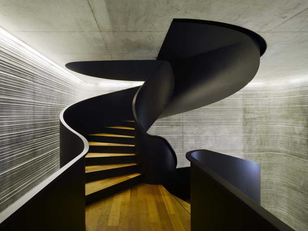 Beautiful modernist stairway modern design by for Architectural stairs
