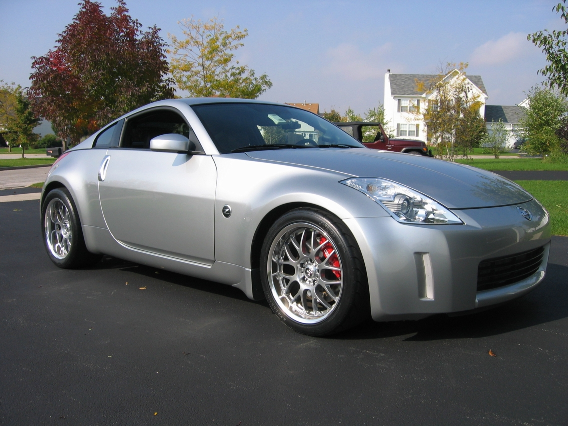 New Best Car: Nissan 350z Wallpaper