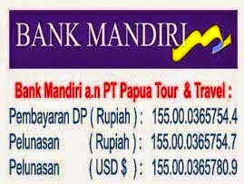 REKENING BANK TRAVEL BAITUSSALAM