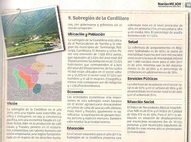 Subregión de la Cordillera
