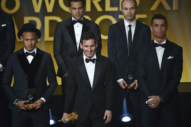 FIFA Ballon d'Or 2015 & FIFA FIFPro World XI 2015 Awards Ceremony in Pictures