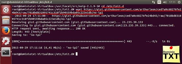 DominioTXT - NoIP no Ubuntu