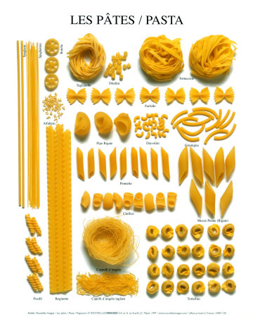 Flavours and aromas pastas - Machine a pate penne ...
