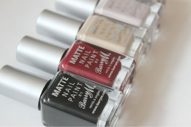 New Barry M Matte Nail Paints