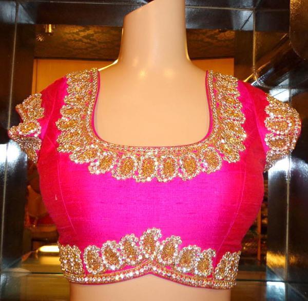top 7 bridal blouses for silk saress