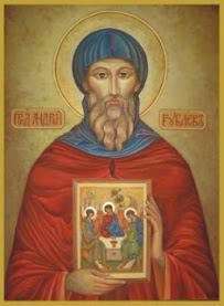17 Οκτωβρίου 1428 † Αντρέϊ Ρουμπλιόφ.