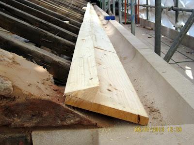 Tilting fillet timber