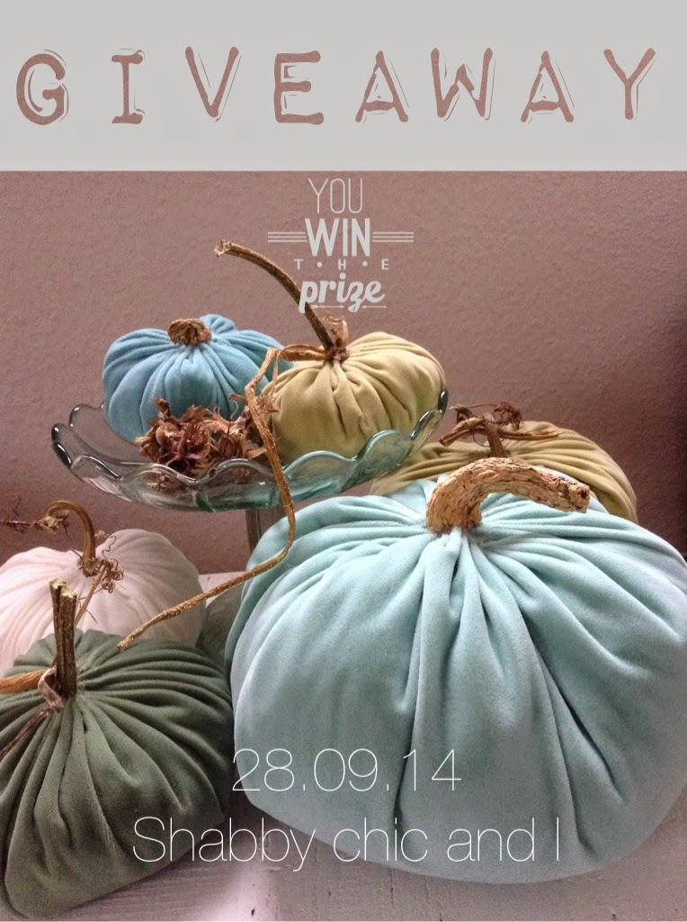 Giveaway bei Shabby Chic and I