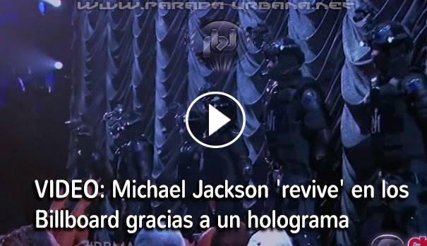 NOTI-URBANA - Michael Jackson 'revive' en los Billboard gracias a un holograma