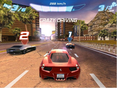 game hp nokia Asphalt 6 HD 320x240