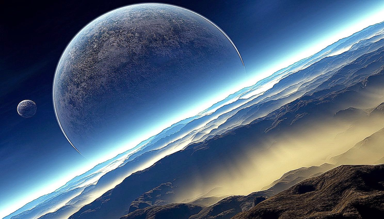 space wallpaper real nature - photo #12