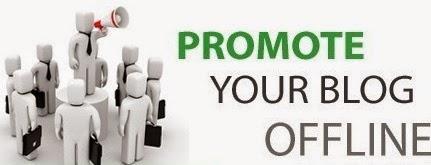 blog, promosi, offline