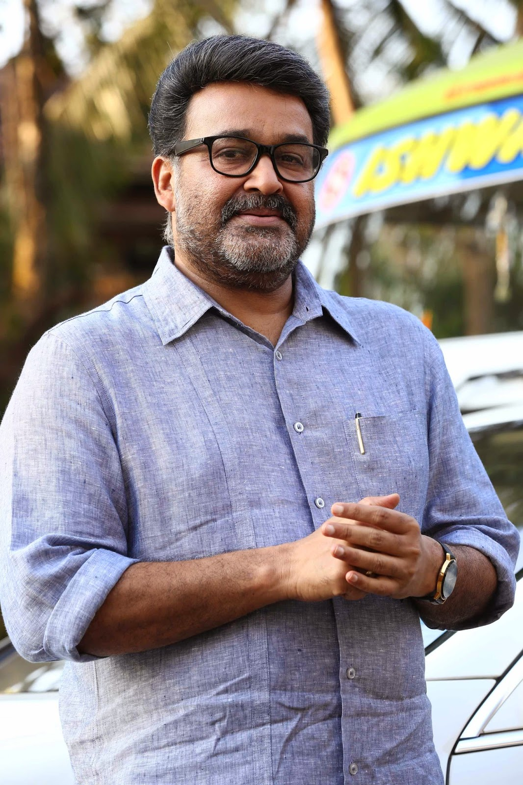 Mohanlal acting as a blind man was the most challenging