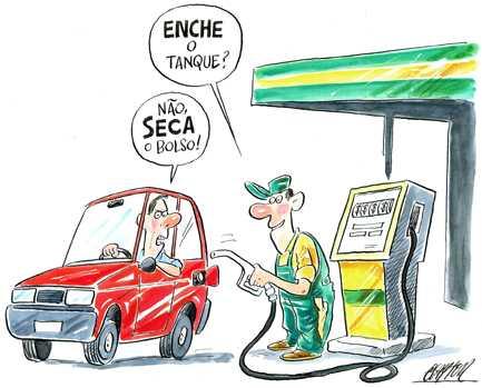 dicas para economizar gasolina em tempos de alta
