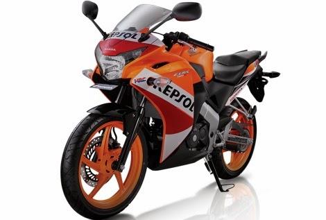 Warna baru Honda CBR 150R 2013 bertemakan carbon look,harga naik!