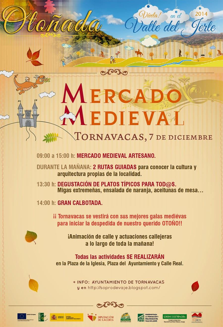 Mercado Medieval (7 de diciembre en Tornavacas)