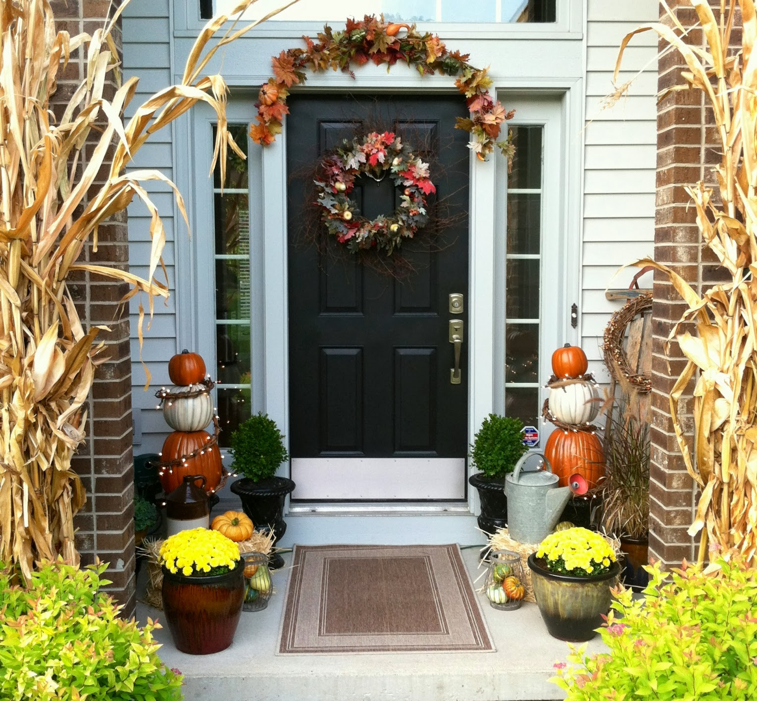 Front Porch Decorating: Eleanor Olander: This Is Me...: Fall Front Porch Decor