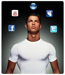 Cristiano Ronaldo es el número 1 en las redes sociales