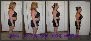 Sara Stakeley Transformation with P90X