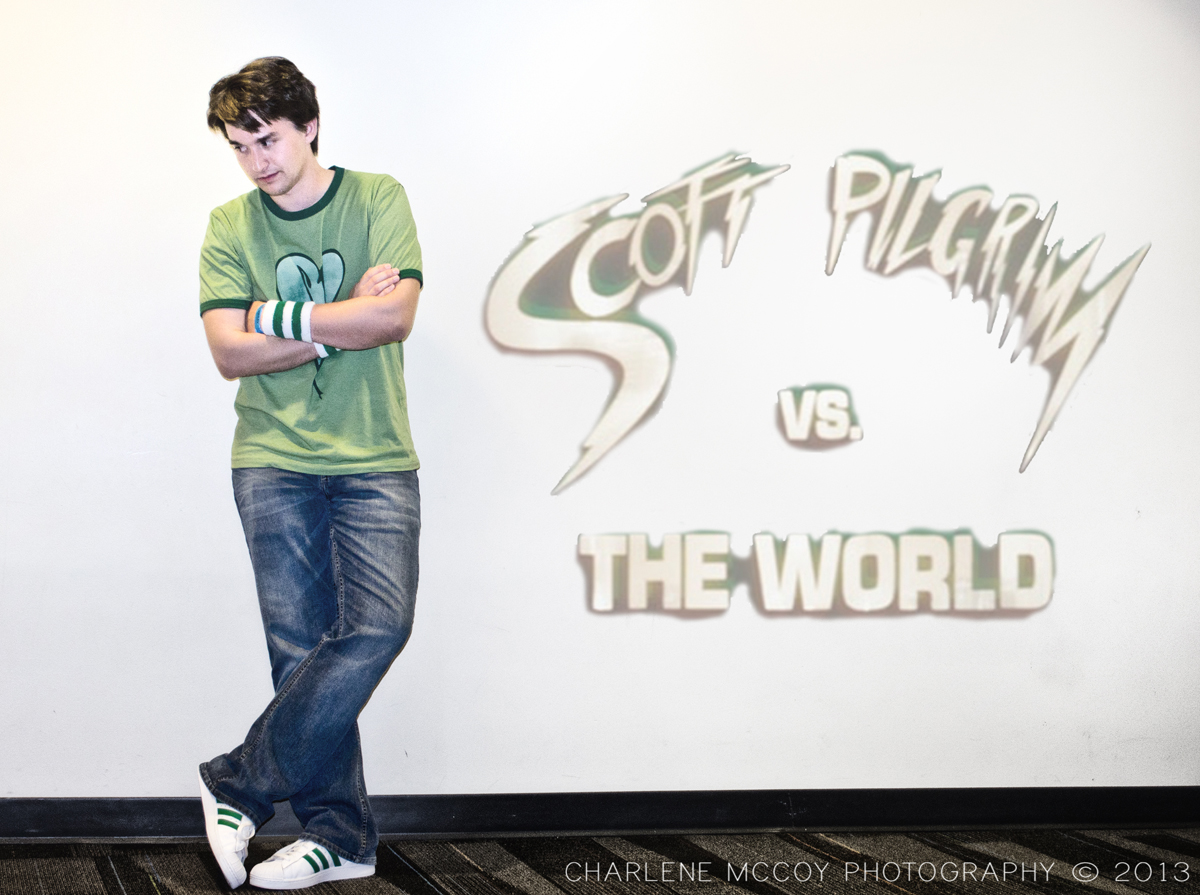 Pictures of Cosplayer as Scott Pilgrim