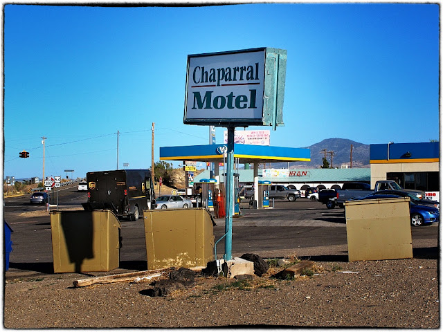Chaparral motel, New Mexico