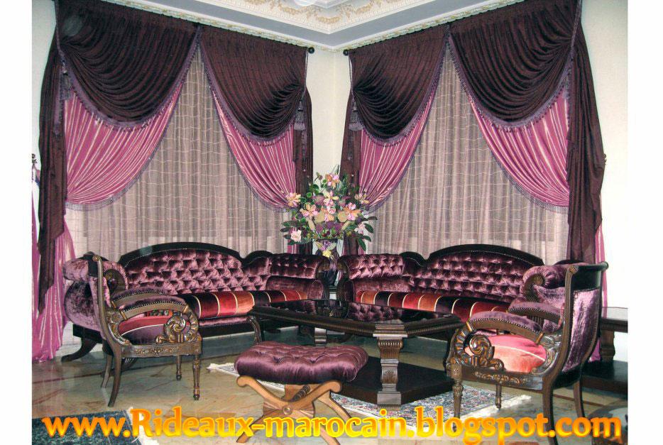 rideaux marocain rideau marocain tapissier 2013 r4. Black Bedroom Furniture Sets. Home Design Ideas