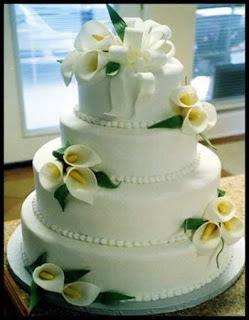 2012 Wedding Cakes Trends With Flowers Decorations
