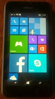 Lumia 530 front