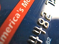 Bank card numbers