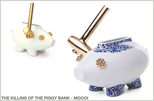 THE KILLING OF THE PIGGY BANK - MOOOI