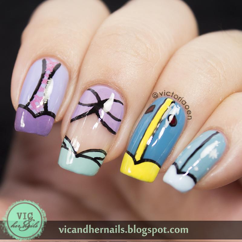 Disney Acrylic Nail Designs