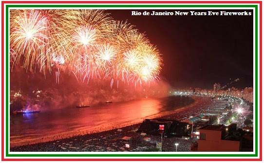 Rio de Janeiro 2015 New Years Eve Fireworks Live Streaming Wallpapers