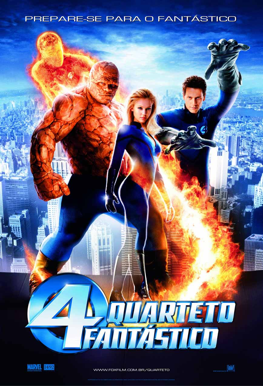 Quarteto Fantástico Torrent - Blu-ray Rip 720p Dublado (2005)